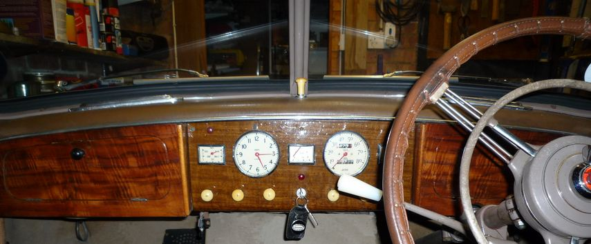 Wolseley 4/50 interior