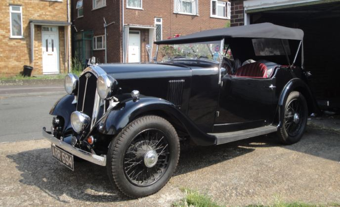 Wolseley Nine - Eustace Watkins Tourer