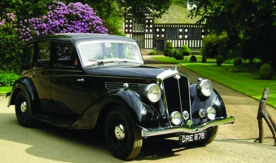 Wolseley Series II 16hp Super Six 'Alice' owned by member Bob Leyland