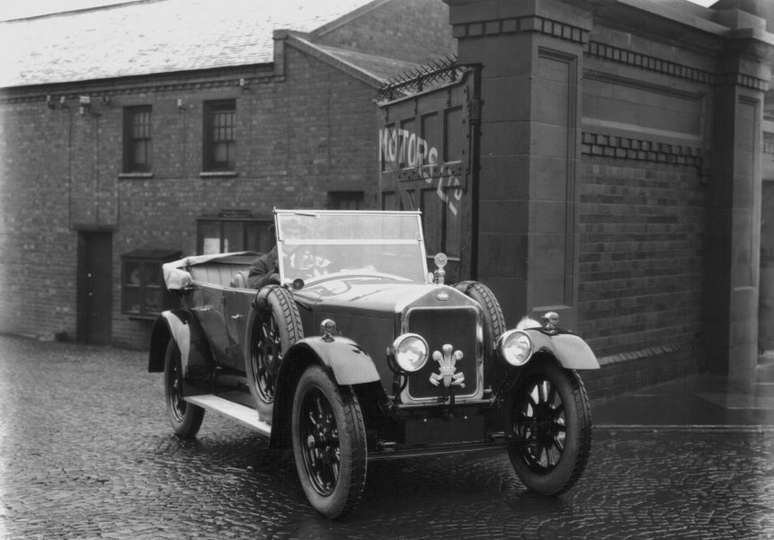 Wolseley Register - Prince Wales Wolseley 16/35hp - Ward End
