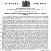 British Patent 191517944 dated 1915 - 'Means for Locking Differential or Balance Gear of a Motor Vehicle'