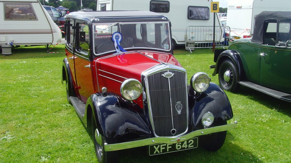 Red & black Wolseley Wasp