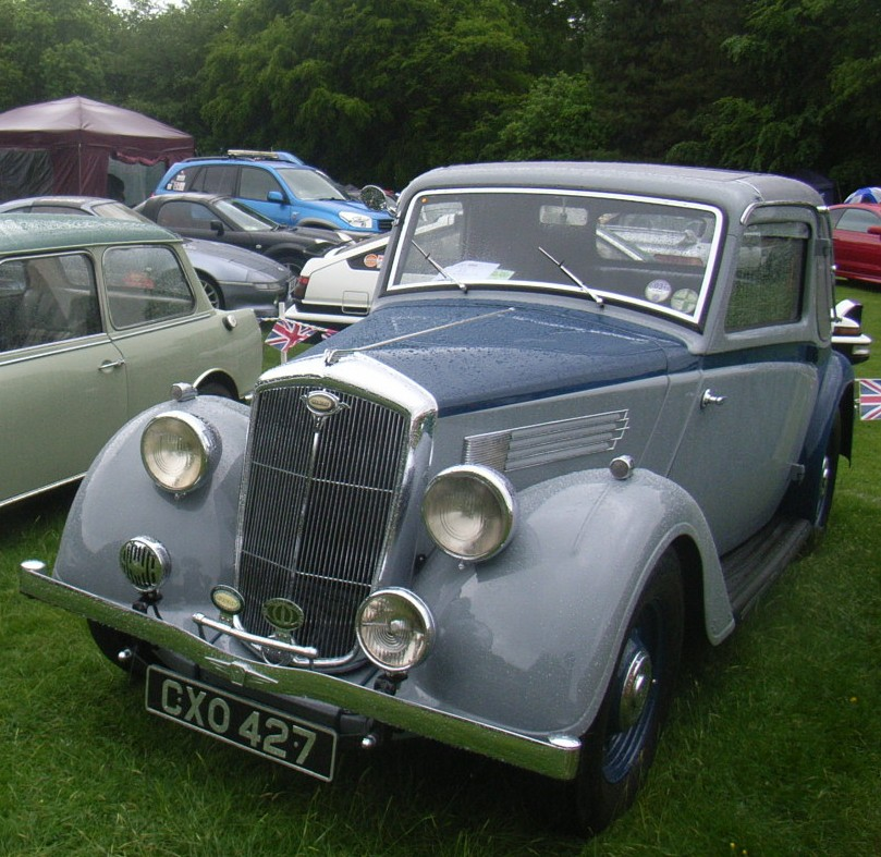 Grey & blue Wolseley 12/48 Doctor's Coupe