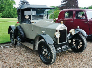 1925 grey Wolseley 11/22