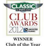 Wolseley Register winner of 2012 Club of the Year