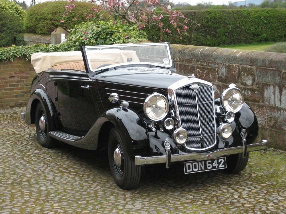 Ex Lord Nuffield car, the Wolseley 25 DHC