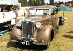 Wolseley 10 - the colour is a close match to the original polychromatic cellulose bronze paint used on a small number of Wolseley 10s