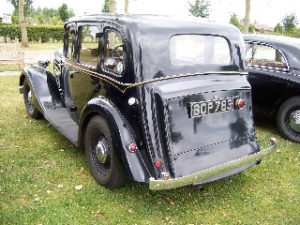 Black Wolseley New Fourteen