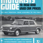 1968 Wolseley Price List