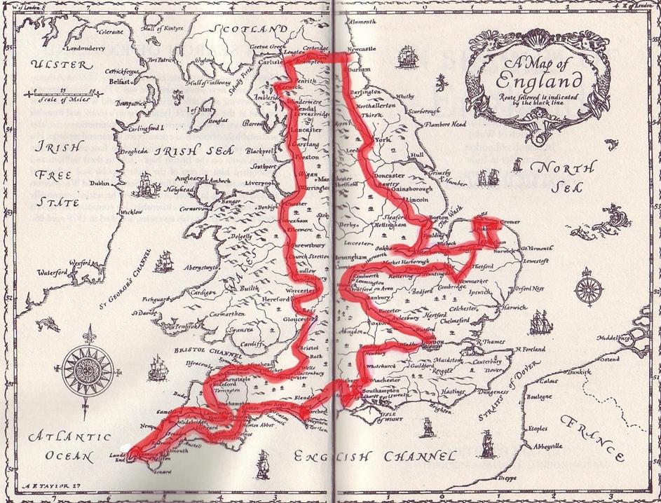 Morton - English Map