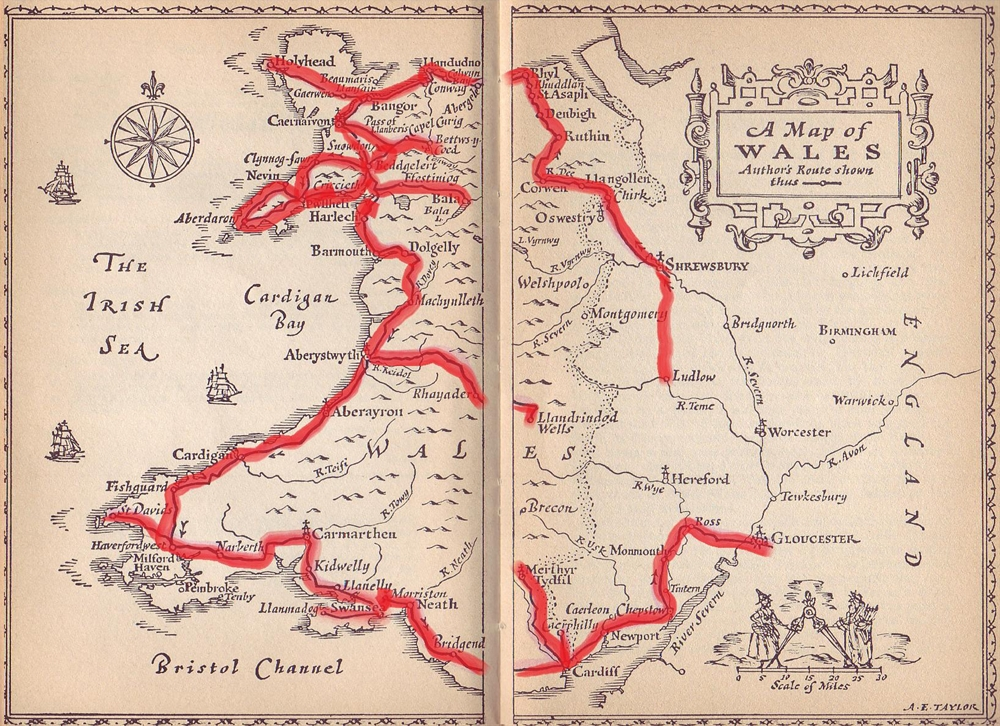 Morton - Welsh Map