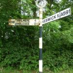 Old signpost, Keswick