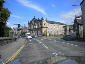 Leaving Kendal on the A5284