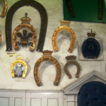 Horseshoes at Oakham Castle