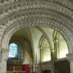 Inside Tickencote church