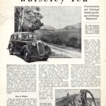 Ten Road Test - The Autocar January 1946