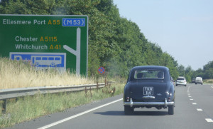 Nearing Chester