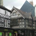 Shrewsbury Tudor building