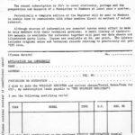 Register Membership & Rally Forms - 1966