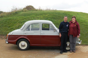 Jenny and Graham & their 1500