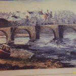 Towy old bridge