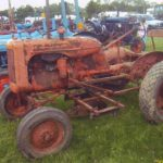 Old tractor......