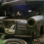 "Wolseleys in scrapyards - courtesy ""Popular Classics"""
