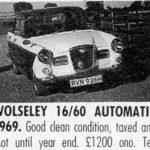 Wolseleys For Sale 1989 - courtesy Popular Classics
