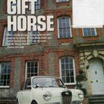 "Gift Horse Article - courtesy ""Mini World"" Feb 2012"