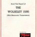 15/50 Road Test - Feb 1957