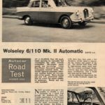 6/110 MK II Road test - courtesy Autocar August 1965