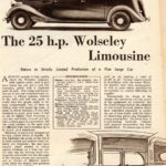 "25HP Limo Review - ""Autocar"" Sept 1947"