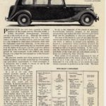 "25HP Limo Review -""The Motor"" Sept 1947"