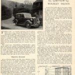 S.III 12/48 Roadtest - Autocar Jan 1939
