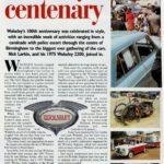 Wolseley's Centenary- courtesy Popular Classics Nov 1995
