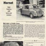 Hornet Roadtest - 'Motor' Sept 1962