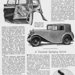 Hornet Coachwork -'Motor' May 1933