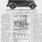 """Sixteen Roadtest - """"Autocar"""" Jan 1933"""