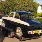 Wolseley 1500 Mk2 loan car restoration