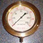 Pillinger & Co water pressure gauge