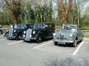 Wolseleys meeting on Drive it Day
