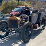 Wolseley 1913 24/30 under restoration