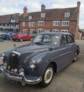 1956 Wolseley 15/50 at Chilham