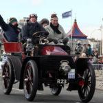 Wolseley 1903 10hp Rotonde Tonneau on a London to Brighton run