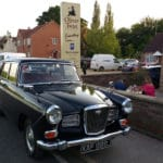 Wolseley 16/60 at the Oliver Twist