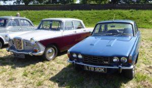 Rover V8 in amongst Wolseleys