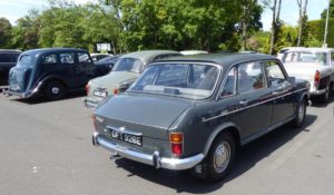 A rear view, collection of Wolseleys including an 18/85