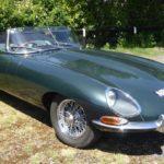 A lovely E Type Jaguar