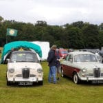 Wolseley 14/56, 2 x 1500's and an 11/22 at the MVA rally at Thoresby in 2021