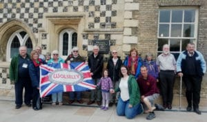The 2021 Wolseley Register walking tour around Medieval Kings Lynn
